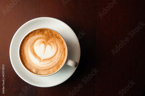 Fotografie, Obraz  cappuccino cup