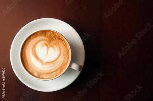 cappuccino cup Fototapeta