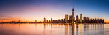 Fototapeta Nowy Jork - New York panorama at sunrise