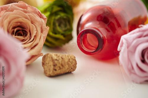 Fotografie, Obraz  glass bottle