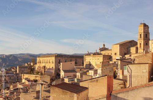 Foto op Plexiglas Marokko Leonforte, Sicily
