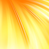Abstract orange cover with smooth lines.