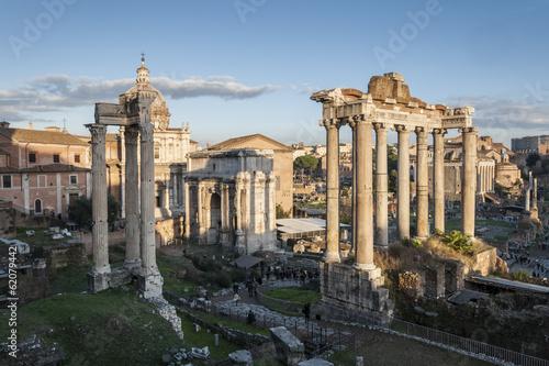 Recess Fitting Rome Views of Roman Forum, Rome, Italy