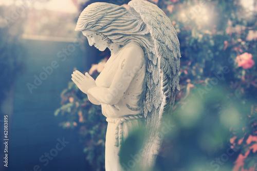 Fotografie, Obraz  Angel statue