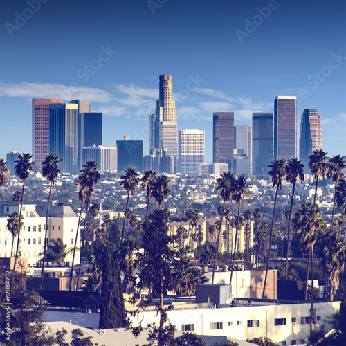 Foto op Canvas Los Angeles City of Los Angeles, california