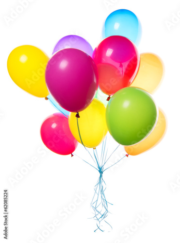 Foto op Canvas Ballon flying balloons isolated