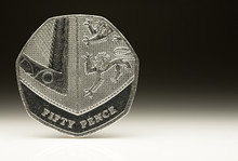 New UK Fifty Pence Coin Balanc...