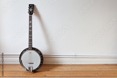 Photo Banjo an der Wand