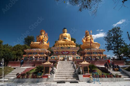 Staande foto Nepal Wunderschöne Skulpuren in Kathmandu