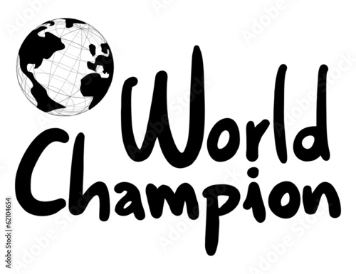 World champion Canvas Print