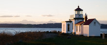 Discovery Park West Point Lighthouse Puget Sound Seattle