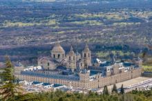 El Escorial Monastery Near Madrid, Spain.