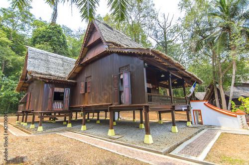 Fotografía  Traditional malay wooden house