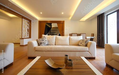 Fotografie, Tablou  Modern living room design