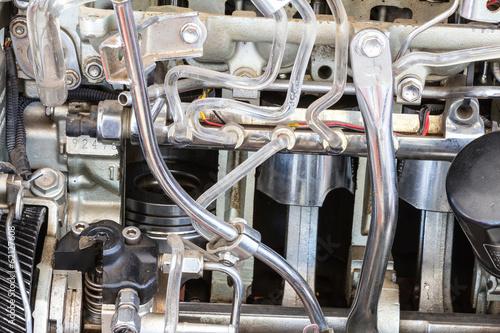 Valokuva  Part of car engine
