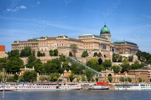 Obraz premium Zamek Królewski w Budapeszcie