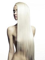 Obraz na SzklePerfect blonde