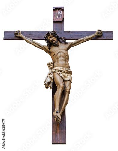 Crucifixion isolated Fototapete