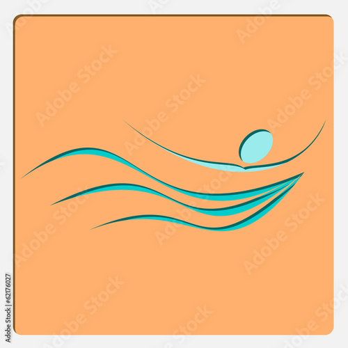 Symbol Of Swimming Pool For Web And Mobile Application Buy This