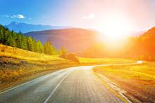 Sunset Mountain Road