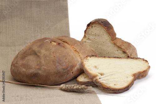 pane di altamura 02 Canvas Print