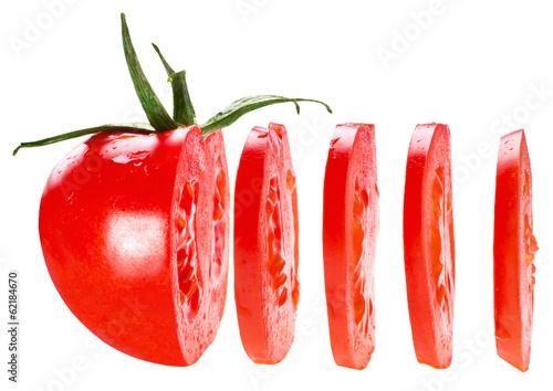 Fototapeta  sliced tomato