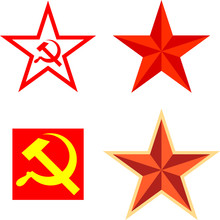 Vector Pack With Communism Symbols