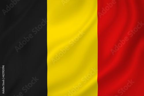 Fotomural Belgium flag