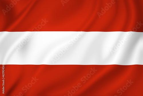 Fotografie, Obraz  Austria flag