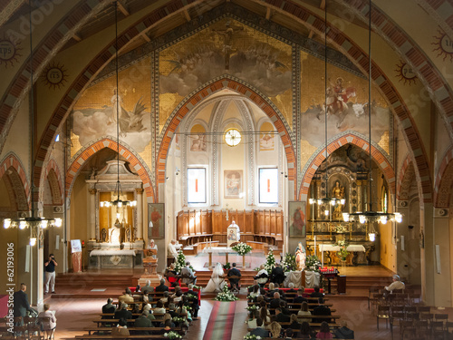 Fotografie, Obraz  matrimonio in chiesa