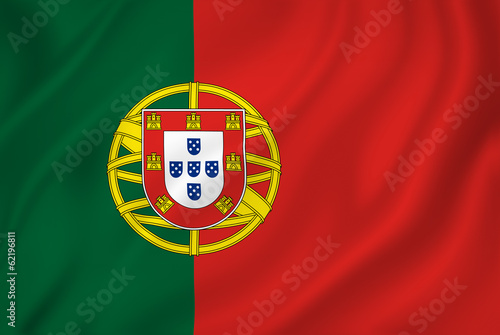 Fotografie, Obraz  Portigal flag