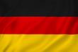 Leinwandbild Motiv Germany flag