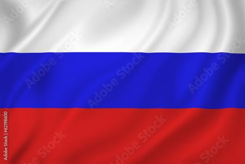 Fotografía  Russia flag