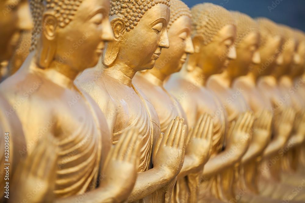 Fototapety, obrazy: Posągi Buddy