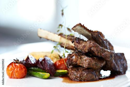 Grilled lamb Fototapeta