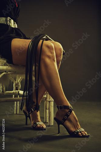 Photo  Legs of a mistress