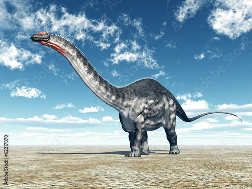 Photo  Dinosaur Apatosaurus