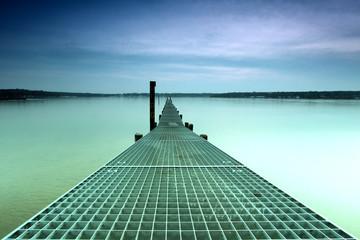 Fototapeta Weg zum Horizont