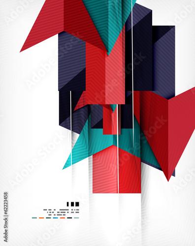 plakat-biznes-abstrakcja-geometryczna