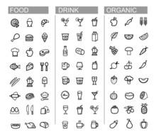 Vector Black Beverage, Food, K...