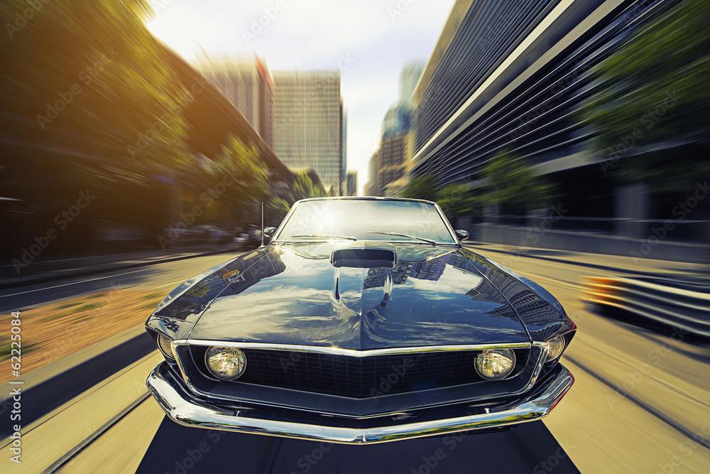 Fototapety, obrazy: Vintage Cabriolet