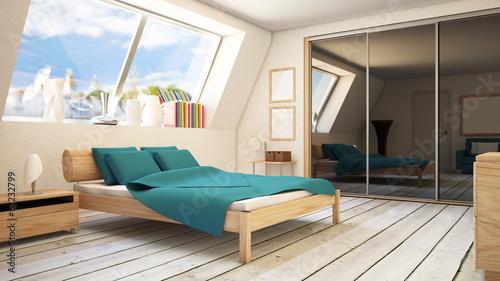 Fototapete 3D Schlafzimmer Bedchamber - Home Fototapeten ...