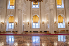 Georgievsky Hall Of The Kremlin Palace, Moscow