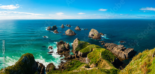 Papiers peints Nouvelle Zélande Nugget Point