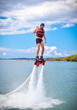 The New Spectacular Sport Called  Flyboard.