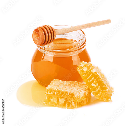 Valokuva  Sweet Honey and honeycomb