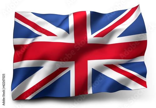 Fotografía  flag of the United Kingdom