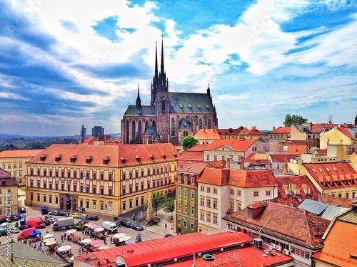 Brno view Canvas Print