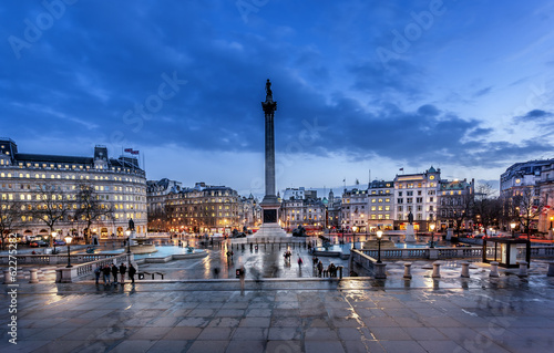 Foto op Canvas Londen Trafalgar square London