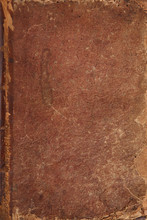 Antique Leather Book Cover Bac...